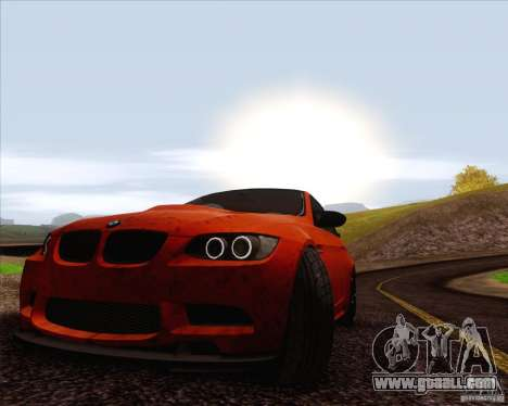BMW M3 GT-S for GTA San Andreas side view
