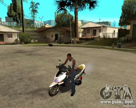 Honda Click for GTA San Andreas