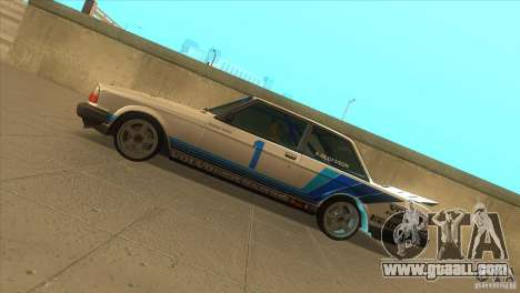 Volvo 240 Turbo Group A for GTA San Andreas left view