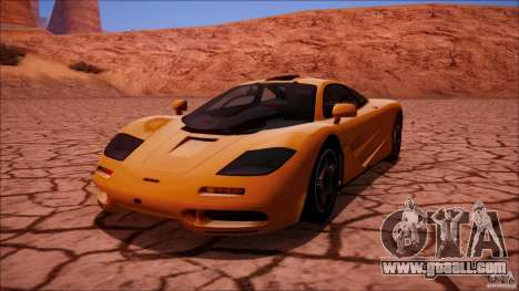 McLaren F1 v1.0.1 1994 for GTA San Andreas