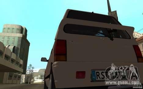Daewoo Tico SX for GTA San Andreas right view