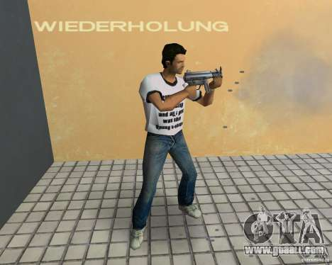 MP5K for GTA Vice City second screenshot