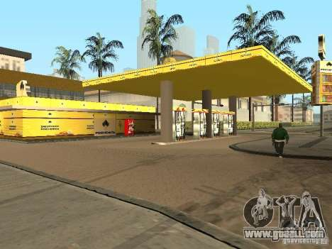 New textures petrol stations for GTA San Andreas