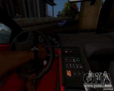 Lamborghini Diablo SV V1.0 for GTA San Andreas upper view