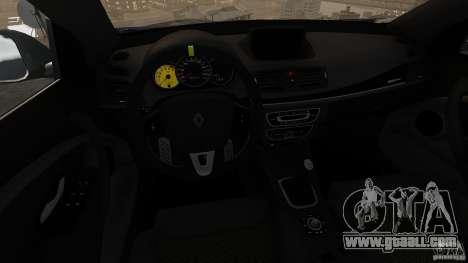 Renault Megane RS 250 for GTA 4 upper view