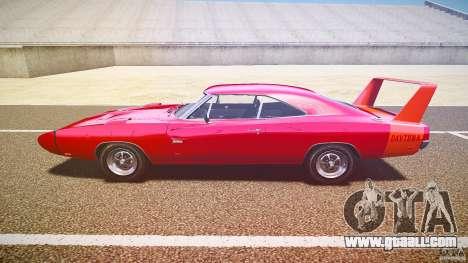 Dodge Charger Daytona 1969 [EPM] for GTA 4 left view