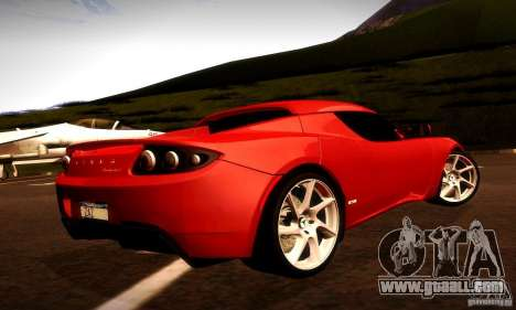 Tesla Roadster Sport for GTA San Andreas right view