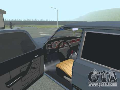 GAZ-24 Volga 12 for GTA San Andreas back view