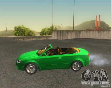 Audi A4 Convertible 2005 for GTA San Andreas left view