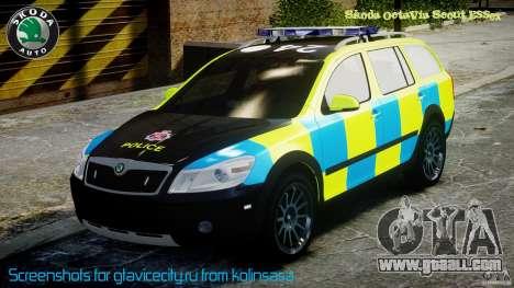 Skoda Octavia Scout Essex [ELS] for GTA 4