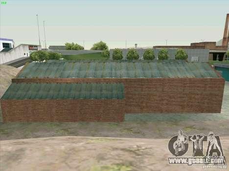 New garage in Doherty for GTA San Andreas sixth screenshot