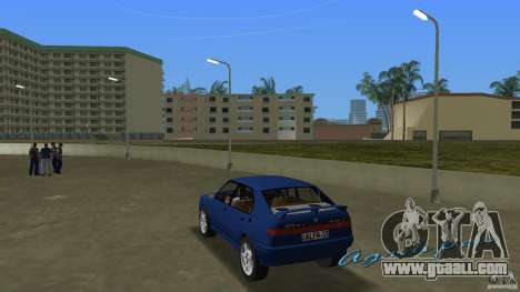 Alfa Romeo 156 for GTA Vice City back left view