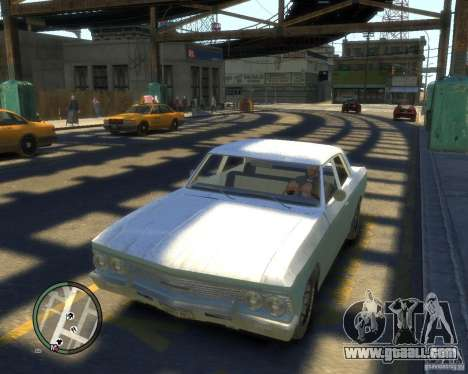 Chevrolet Chevelle 1966 for GTA 4 inner view