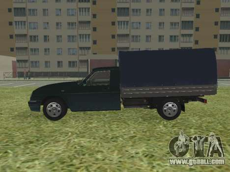 GAS 17310 Trofim for GTA San Andreas left view
