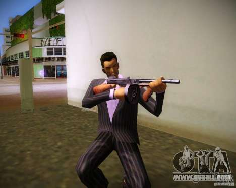 Thompson Model 1928 for GTA Vice City forth screenshot