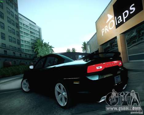 Dodge Charger 2011 v.2.0 for GTA San Andreas upper view