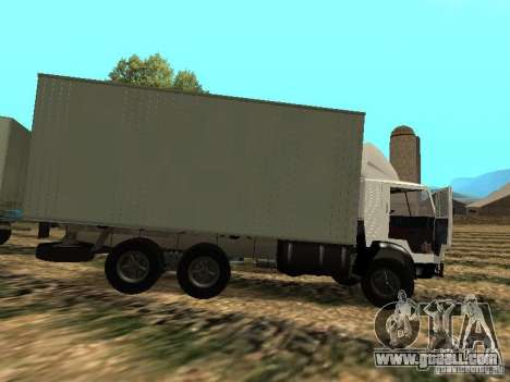 KAMAZ 53212 for GTA San Andreas left view