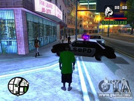 50 cent Skin for GTA San Andreas second screenshot