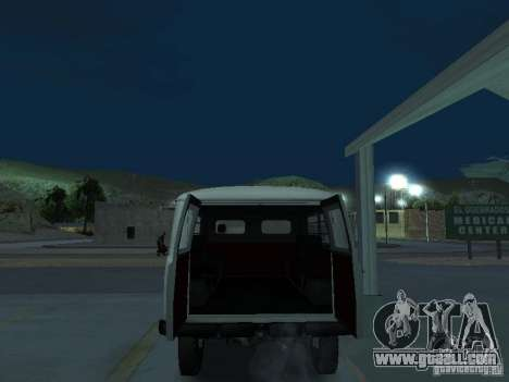 UAZ 451A for GTA San Andreas back view