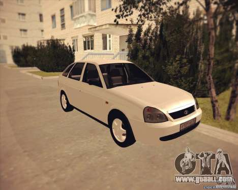Lada 2172 Granta for GTA San Andreas