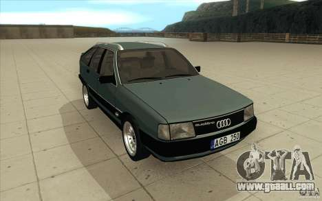 Audi 100 Avant Quattro for GTA San Andreas back view