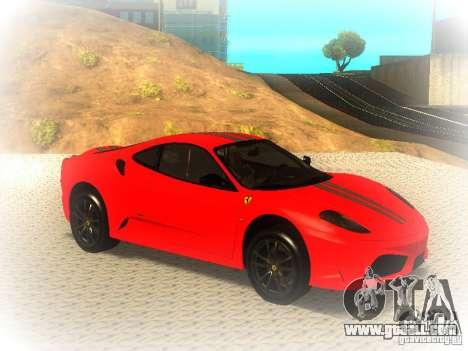 Ferrari 430 Scuderia TT Black Revel for GTA San Andreas right view