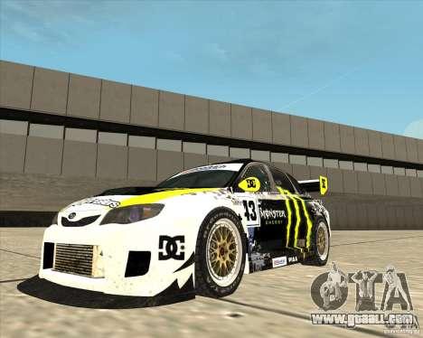 Subaru Impreza for GTA San Andreas right view