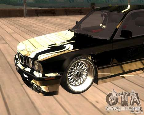 BMW M5 E34 Street for GTA San Andreas right view