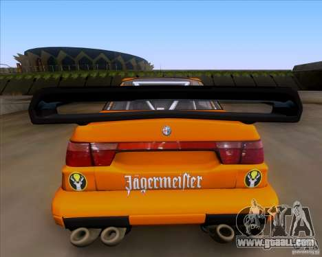 Alfa Romeo 155 v6 DTM Jagermeifter for GTA San Andreas right view