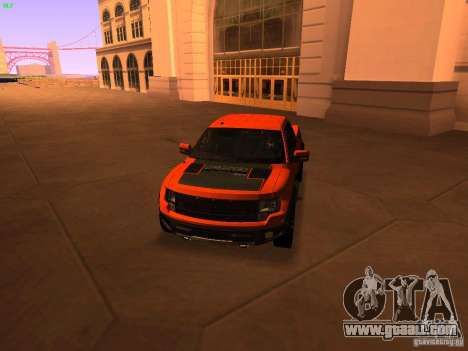 Ford F-150 SVT Raptor 2009 Final for GTA San Andreas