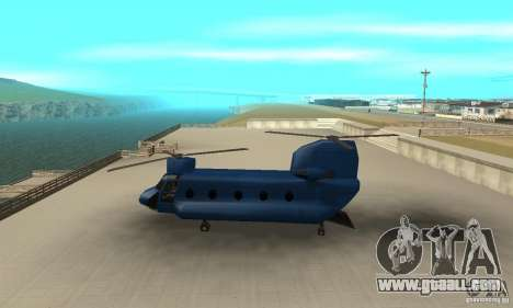 CH-47 Chinook ver 1.2 for GTA San Andreas left view