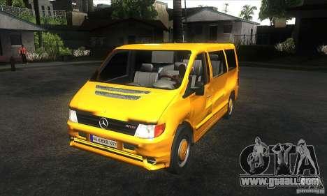 Mercedes Vito for GTA San Andreas