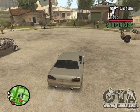 Radar zoom for GTA San Andreas