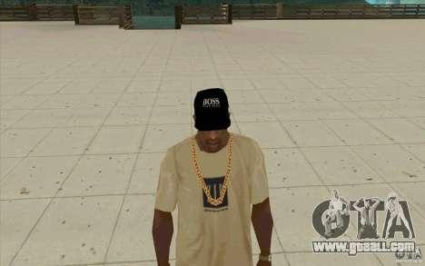 Boss black cap for GTA San Andreas