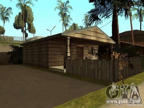 Retekstur houses on Groove Street for GTA San Andreas third screenshot