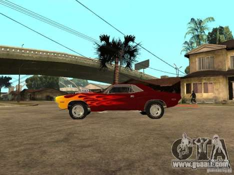 Dodge Challenger Tuning for GTA San Andreas left view