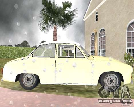FSO Syrena for GTA Vice City left view