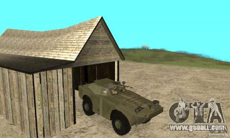 BRDM-1 Skin 2 for GTA San Andreas
