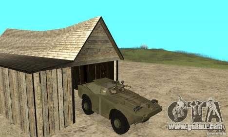 BRDM-1 Skin 2 for GTA San Andreas