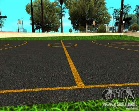 HQ basketball for GTA San Andreas third screenshot