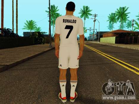 Cristiano Ronaldo v1 for GTA San Andreas