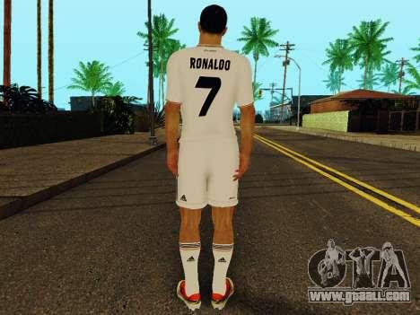 Cristiano Ronaldo v1 for GTA San Andreas forth screenshot