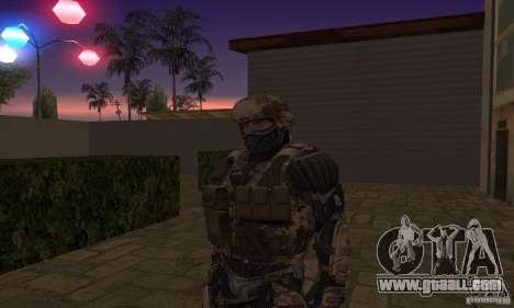Crysis NanoSuit for GTA San Andreas