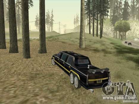 Limousine for GTA San Andreas right view