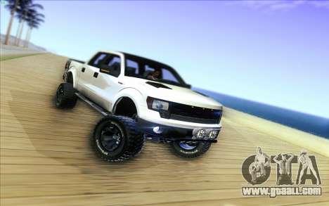 Ford F-150 Carryer Metal Mulisha for GTA San Andreas