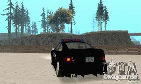 Pontiac GTO 2004 Cop for GTA San Andreas left view