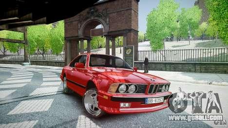 BMW M6 v1 1985 for GTA 4