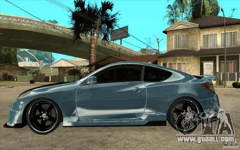 Hyundai Genesis Tuning for GTA San Andreas left view