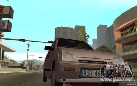 Daewoo Tico SX for GTA San Andreas left view