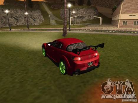 Mazda RX-8 R3 Tuned 2011 for GTA San Andreas wheels